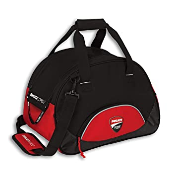 Una bolsa de casco de Ducati Corse/Carrier con visera bolsa auténtica Ducati