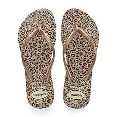 e6f0e20a5fe9 Havaianas Girls   Slim Animals Flip Flops  Amazon.co.uk  Shoes   Bags