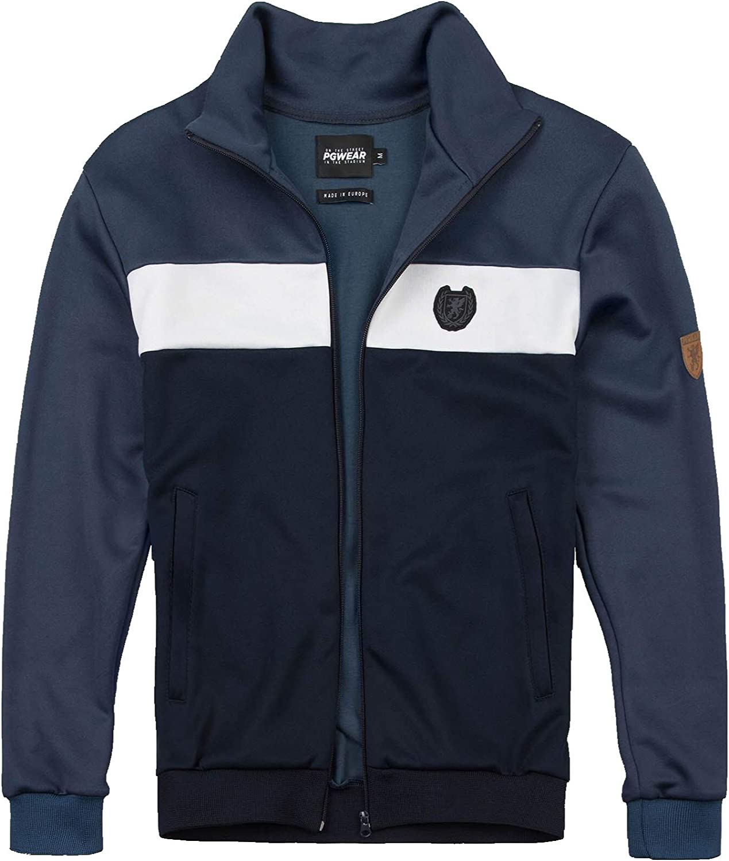 PG Wear Herren Trainingsjacke Retro Vintage: