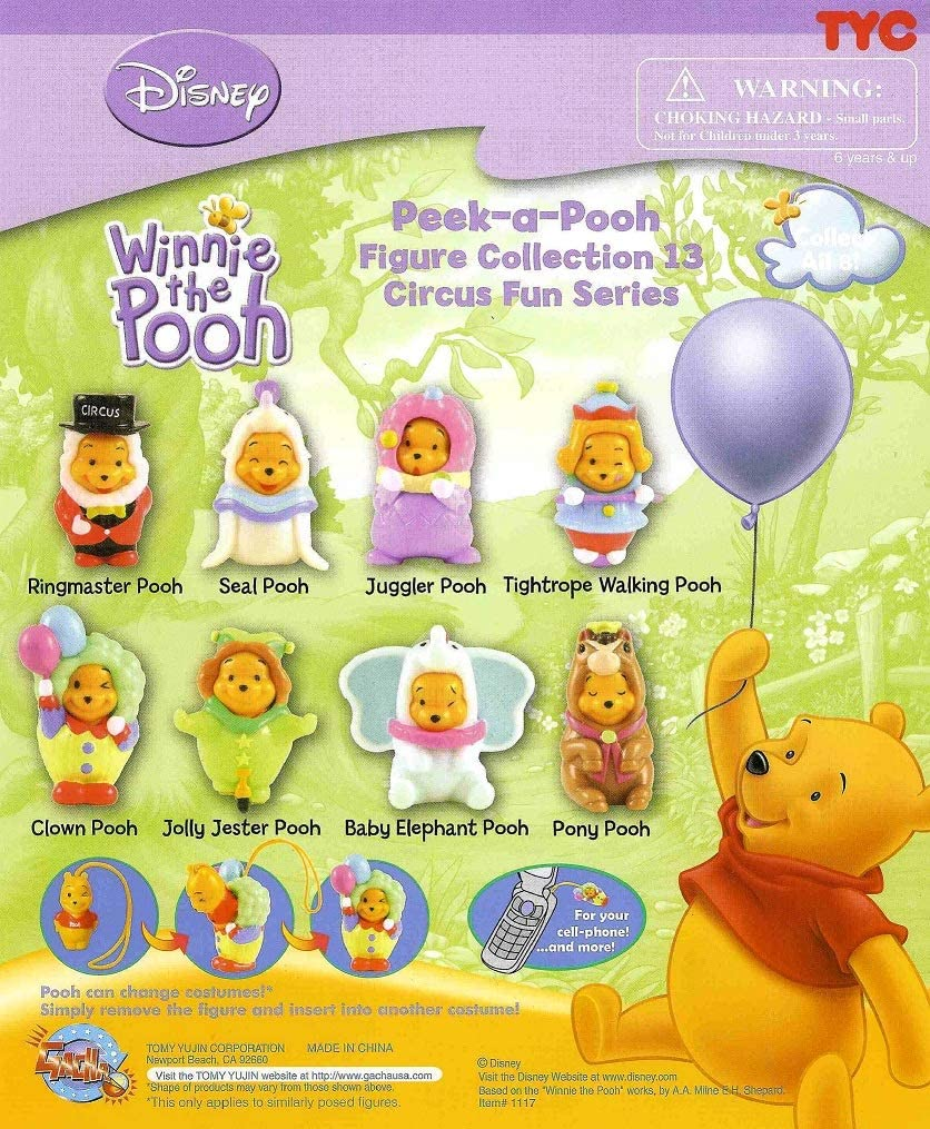Winnie the Pooh set from Tomy Peek A Pooh # 7