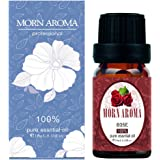 Rose Essential Oil 100% Pure Organic Therapeutic Grade by Morn Aroma -10 ml. Undiluted