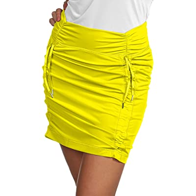 Antigua Ladies Cinch Skort Pineapple Yellow 8-10 Medium