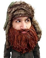 Beard Head - The Original Barbarian Trapper Knit Beard Hat