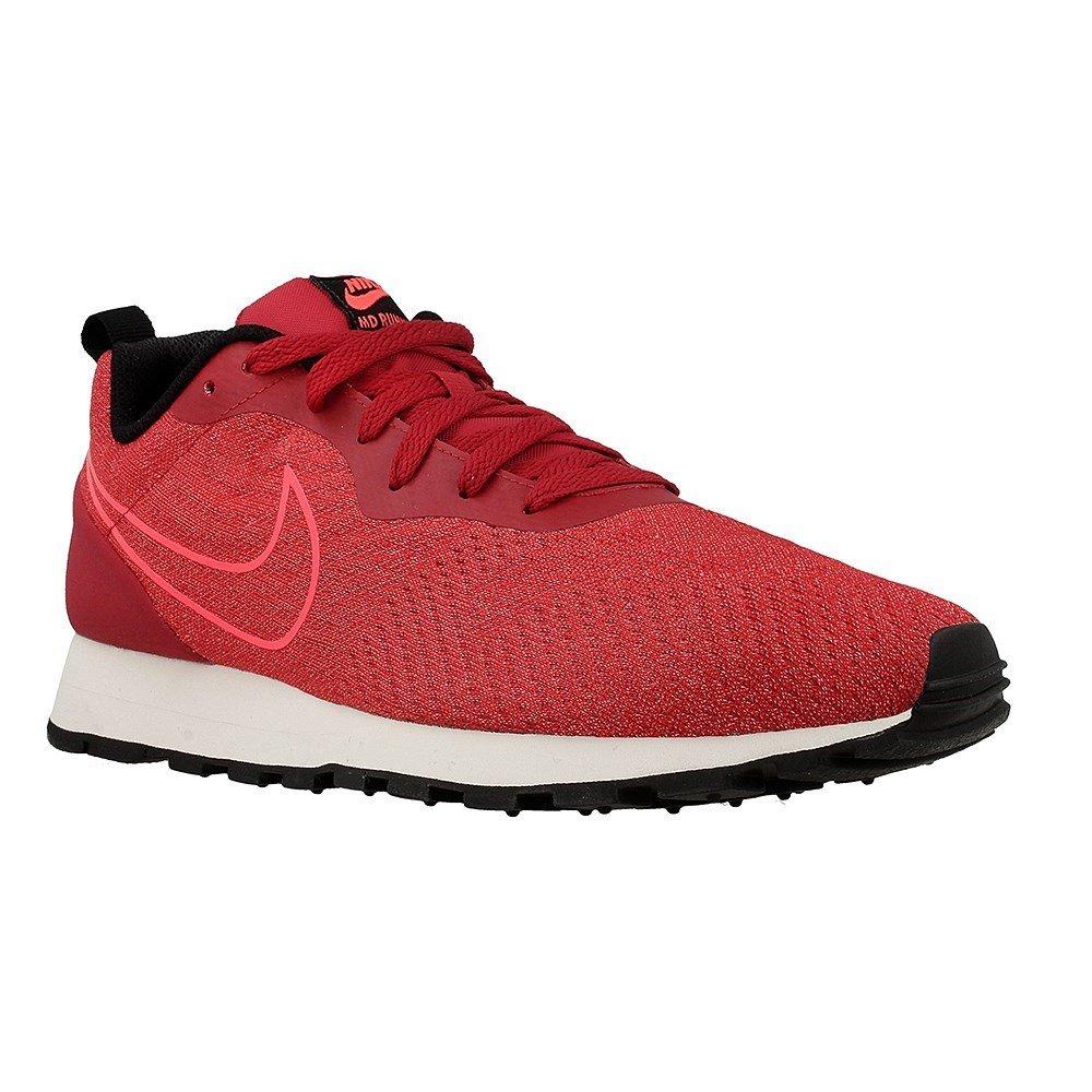 Nike Herren Md Runner 2 Engineered Mesh Sneaker  115 US - 455 EU|rot / schwarz