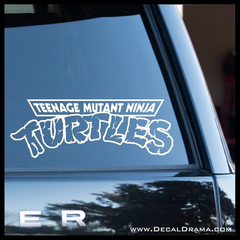 Teenage Mutant Ninja Turtles LOGO SMALL Vinyl Decal