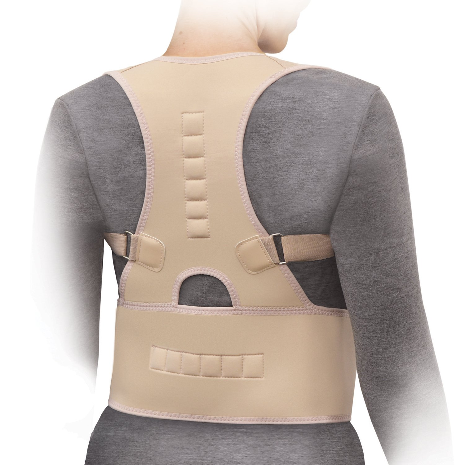 North AmericanTM Magnetic Posture Corrector, Regular, Adjustable 60''-70'' XX-LARGE by North American Health and Wellness