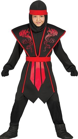 Guirca-81253 Disfraz shadow ninja, Multicolor, Talla 10-12 años ...