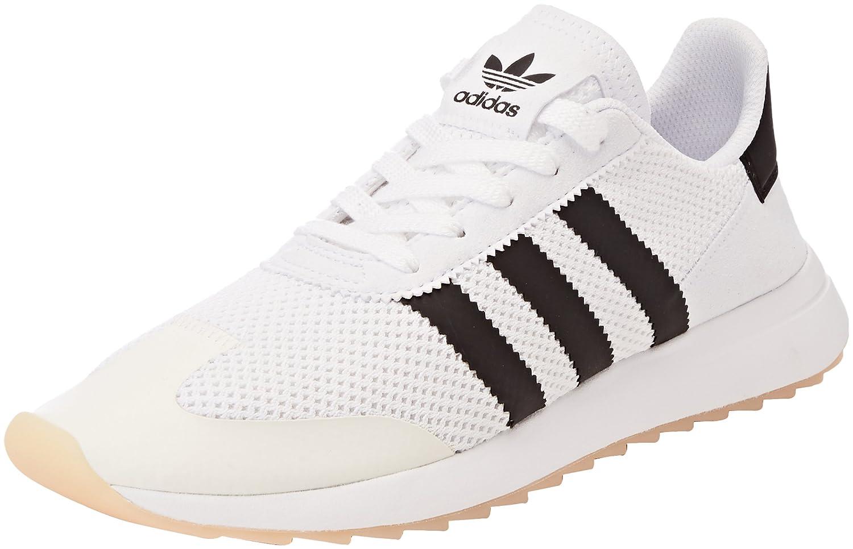 Adidas FLB W, Zapatillas de Deporte para Mujer 44 EU|Blanco (Ftwbla/Negbas/Ftwbla 000)