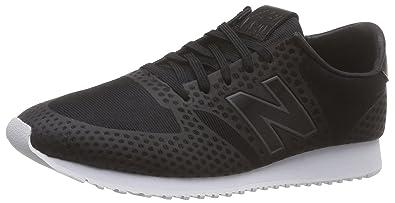 New Balance Wl420df, Womens Low-Top Sneakers, Black (Black), 4