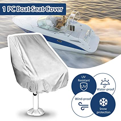 Awesome Essort Boat Seat Cover Outdoor Waterproof All Weather Proof Machost Co Dining Chair Design Ideas Machostcouk
