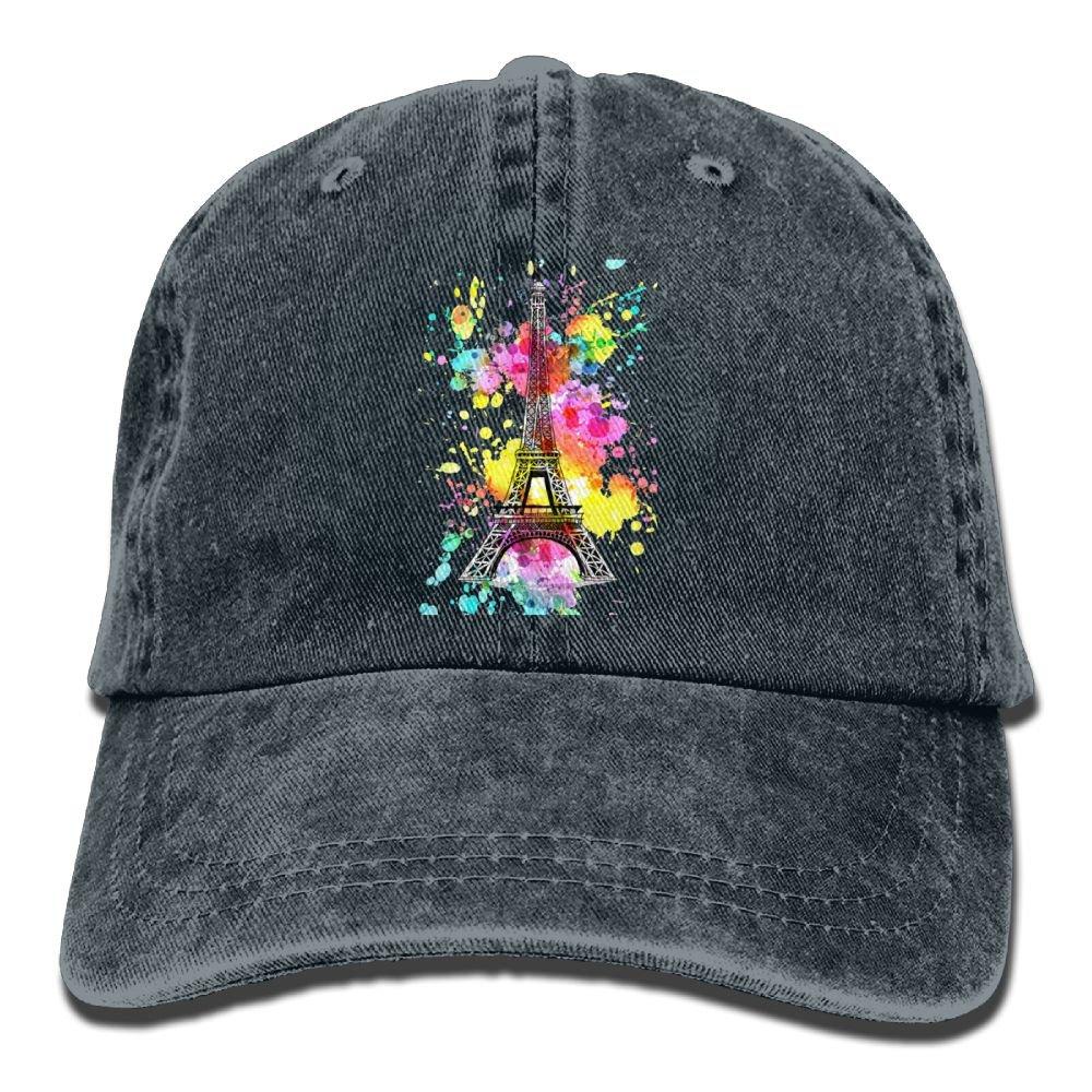 97de4d615d2e9d Amazon.com: Lichang Trucker Baseball Hat Eiffel Tower Polo Cowboys Cap  Unisex: Clothing