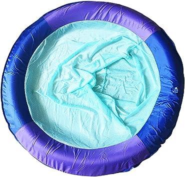 DMMDHR Piscina Silla Flotante Malla Reclinable Cama Flotante Inflable Malla Flotador para Piscina Playa Lago Equipo de Juego de Agua: Amazon.es: Juguetes y juegos