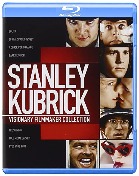 The Stanley Kubrick Collection 8 Blu-Ray Edizione: Regno Unito ...