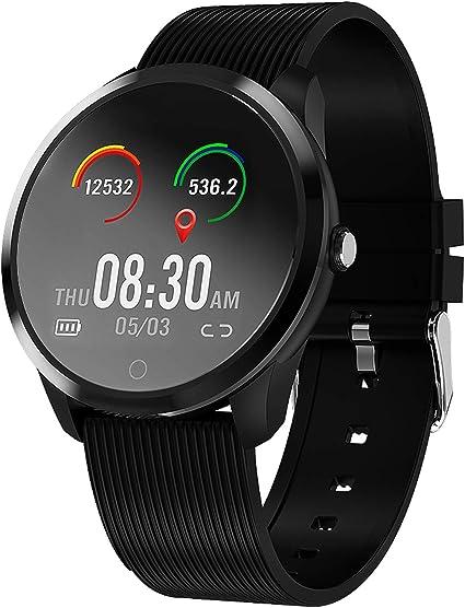 jpantech Smartwatch, Reloj Inteligente Impermeable IP67 con ...