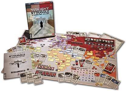 Devir - Twilight Struggle: la Guerra Fría, 1945-1989, Juego de Mesa (BGTWIST): Amazon.es: Juguetes y juegos
