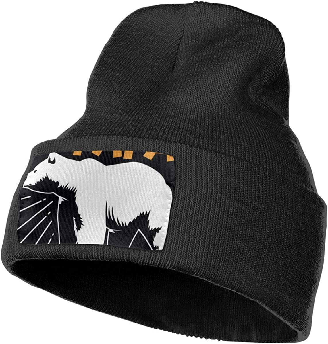 COJOP Papa Bear Winter Beanie Unisex Cuffed Plain Skull Knit Hat Cap