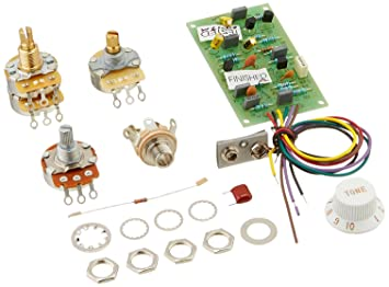 71ajr0JaVGL._SX355_ amazon com fender pre amp mid boost kit 25 db musical instruments fender eric clapton mid boost wiring diagram at edmiracle.co