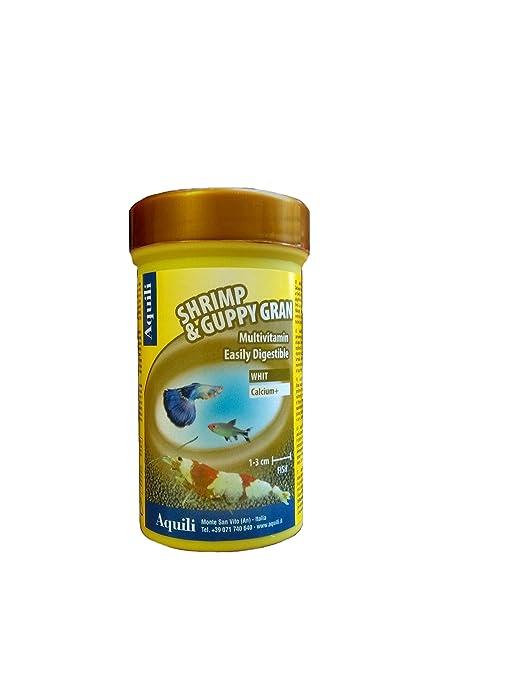 aquili Gamba & Guppy Gran 100 ml Alimento X Gamberi cangrejos peces Dolce y Marino