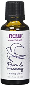 Now Foods Peace & Harmony Oil Blend 1 oz (Pack of 2)