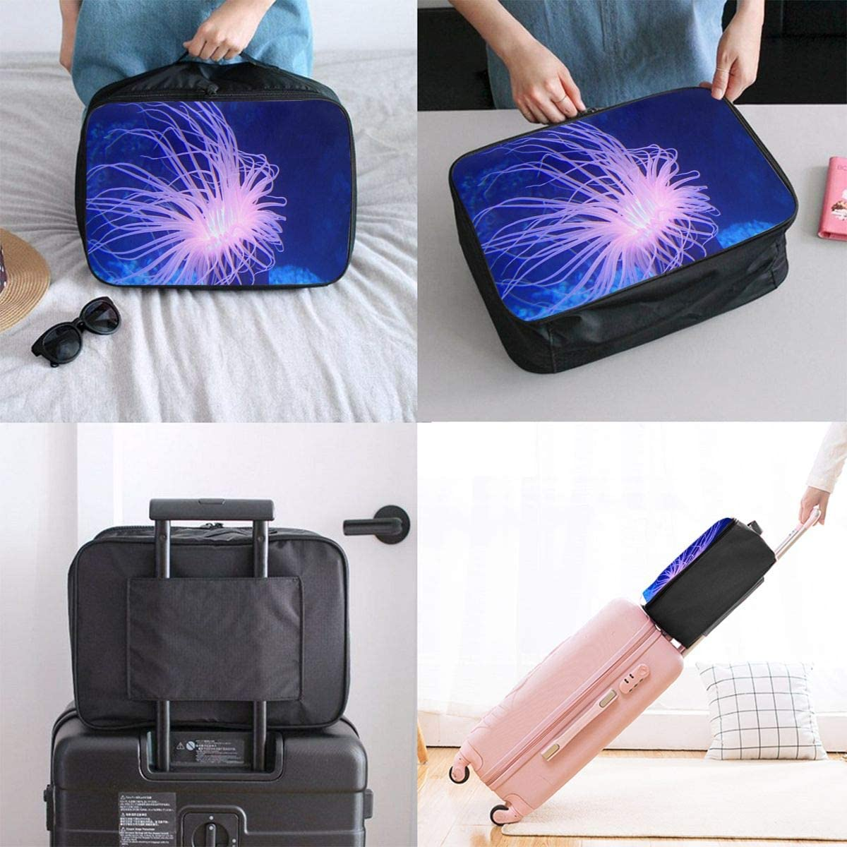 Travel Bags Nature Ocean Animal Isolated Portable Suitcase Marvellous Trolley Handle Luggage Bag