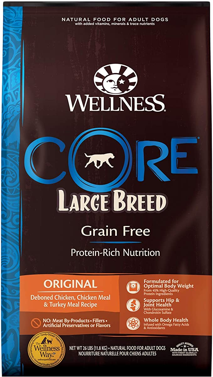 Wellness Core Grain-Free Large Breed Dog Food