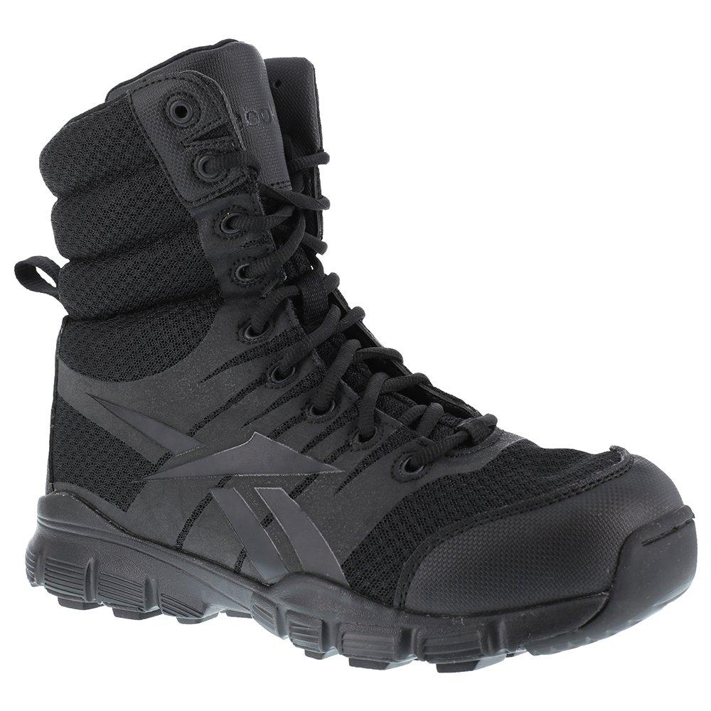 Reebok Men's Dauntless 8'' Tactical Boot Black 10 D(M) US