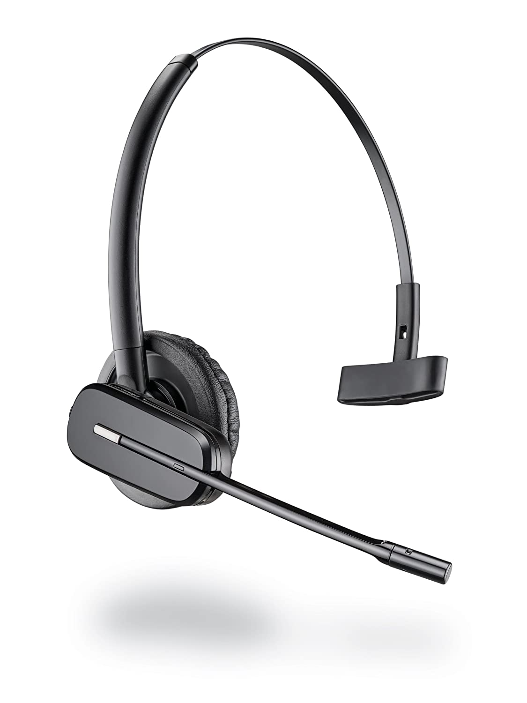 Plantronics Bundle CS540A mit APS11 Drahtlos DECT Kopfh/örer inkl Electronic Hookswitch