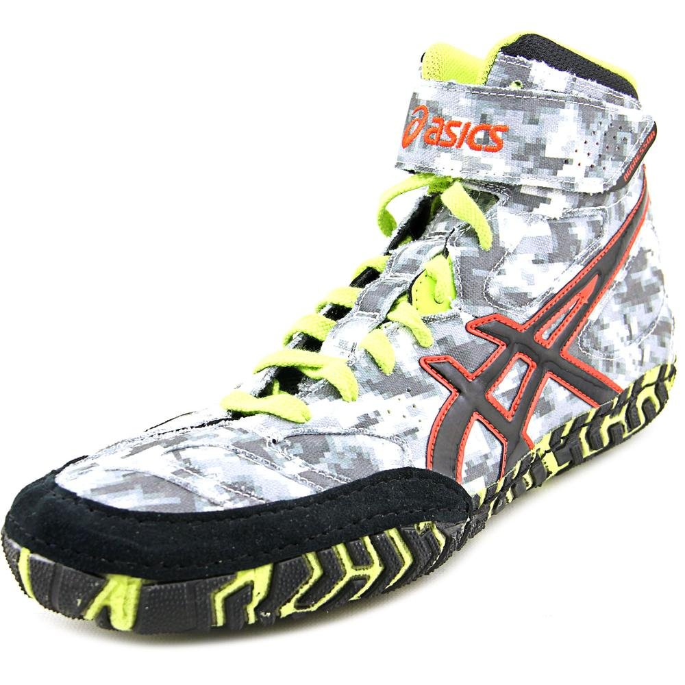 ASICS Men\'s Aggressor 2 Wrestling Shoe Digital Camouflage