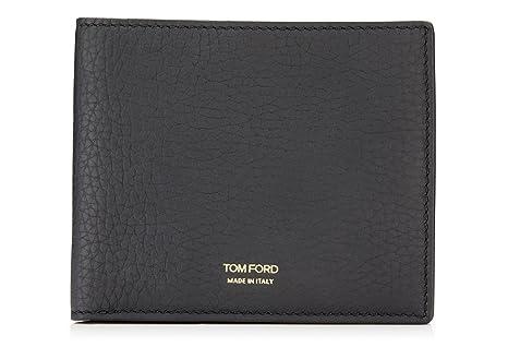 Tom Ford - Cartera para Hombre Negro Negro Talla única