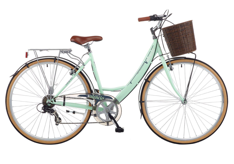 2016 Viking Valencia Damen Traditionelle 6 Speed Bike mint grün ...
