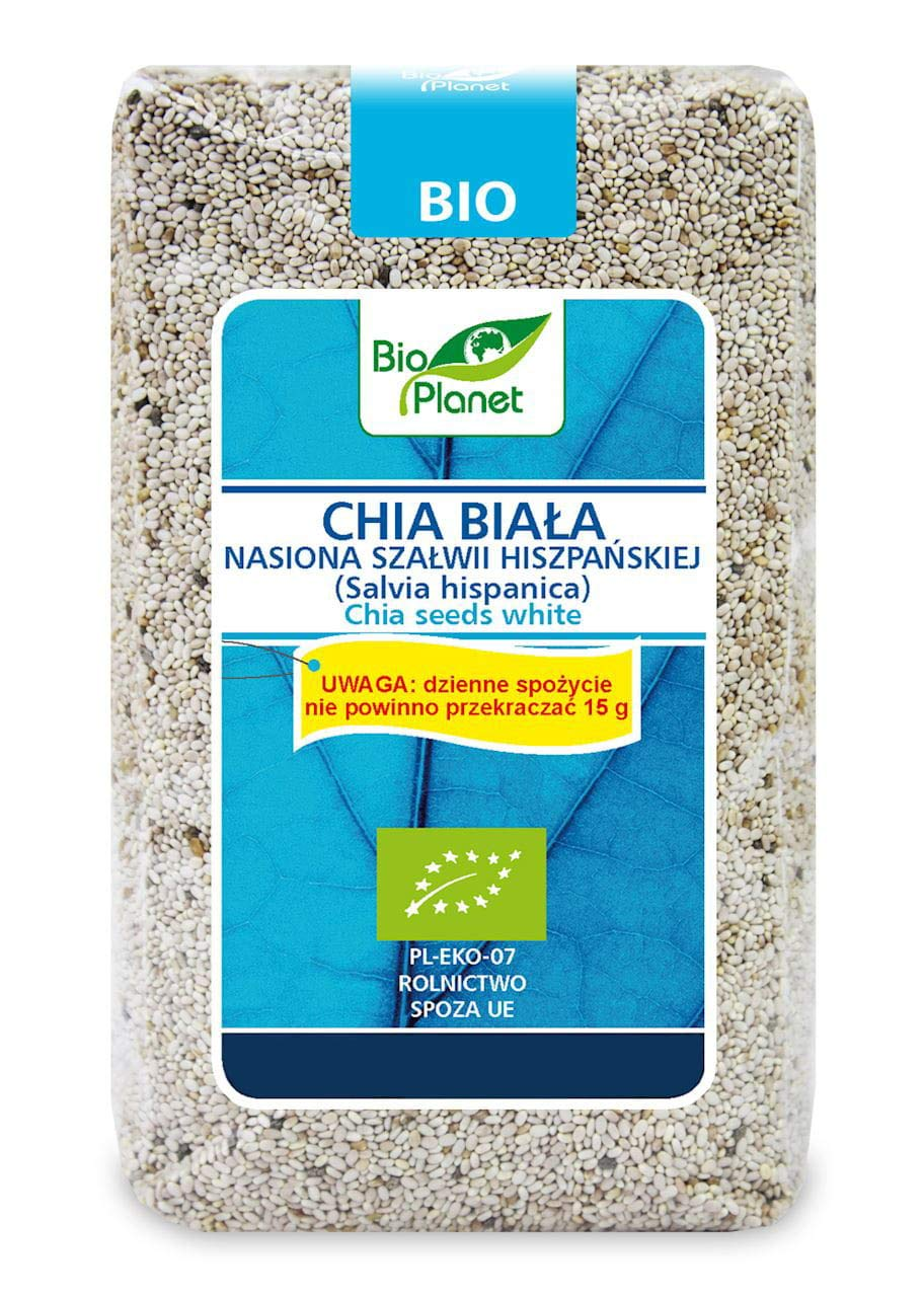 Chia blanca - Salvia hispanica semillas BIO 400 g - BIO ...