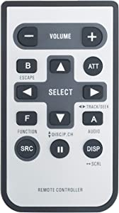 CXC5719 Replaced Remote fit for Pioneer CD Player CD MP3 WMA Receiver DEH-1900MP DEH-2000MP DEH-P2900MP DEH-P3800MP DEH-P3900MP DEH-P390MP DEH-P4800MP DEH-P480MP DEH-P4900IB DEH-P490IB