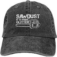 OPO-T Sawdust is Man glitter rolig klassisk vintage tvättad denim keps basebollkeps