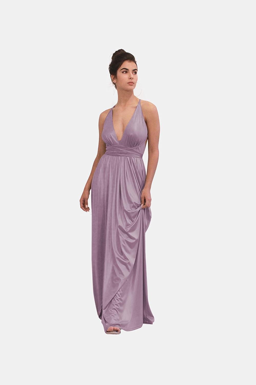 4119a66f7ed Amazon.com  Lavender Evening Dress