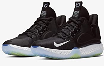 Nike KD Trey 5 VII Mens Basketball Shoes (Black/Cool Grey/Volt/White)