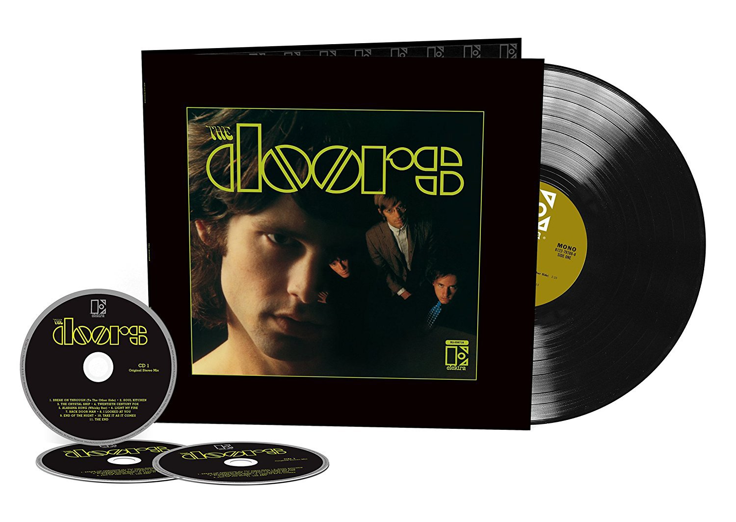CD : The Doors - The Doors (With LP, Deluxe Edition, 4 Disc)