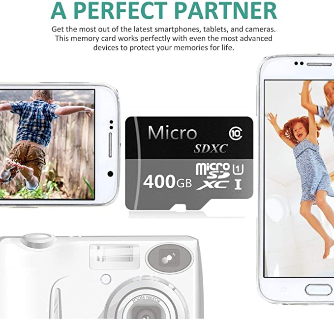 Amazon.com: Micro SD Card 400GB High Speed Class 10 Micro SD ...