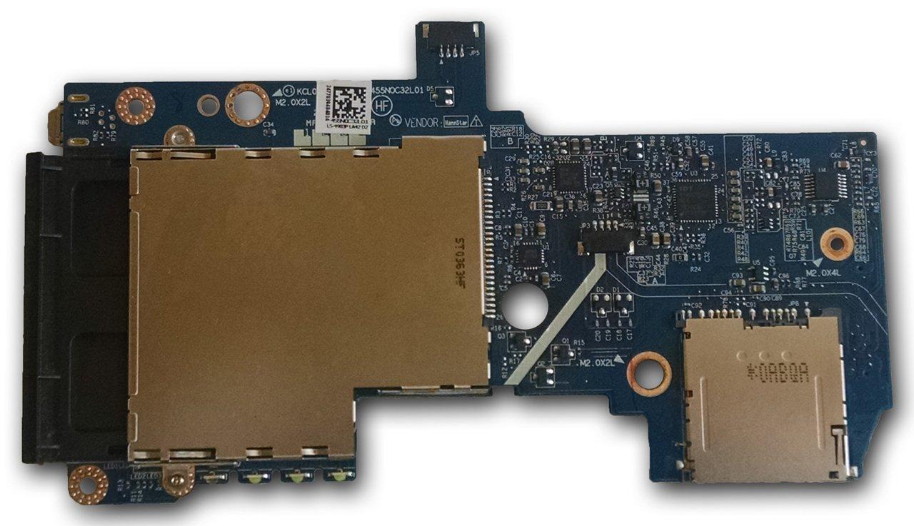 Placa Lector Tarjetas PCMCIA / Audio / Tarjeta SD / Firewire ...