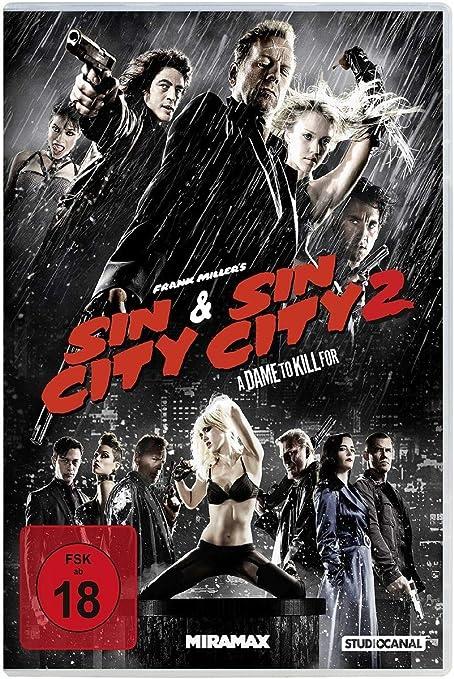 Sin City & Sin City 2: A Dame to Kill For Italia DVD: Amazon.es: Willis, Bruce, Alba, Jessica, Green, Eva, Gordon-Levitt, Joseph, Miller, Frank, Rodriguez, Robert, Willis, Bruce, Alba, Jessica: Cine y