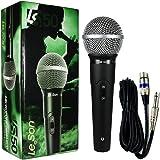 Microfone De Mão Dinâmico Ls50 Preto Leson, Leson, Ls50