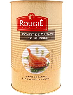 Confit de Canard, Lata de 12 Piezas (3,8 kg): Amazon.es ...