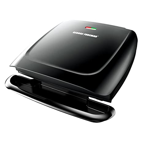 George Foreman GR2120B Plate Grill, Black