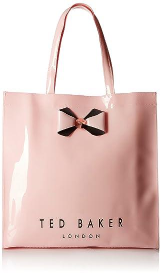 e3bdc9bad2 Ted Baker large plain bow icon bag pink: Amazon.co.uk: Luggage