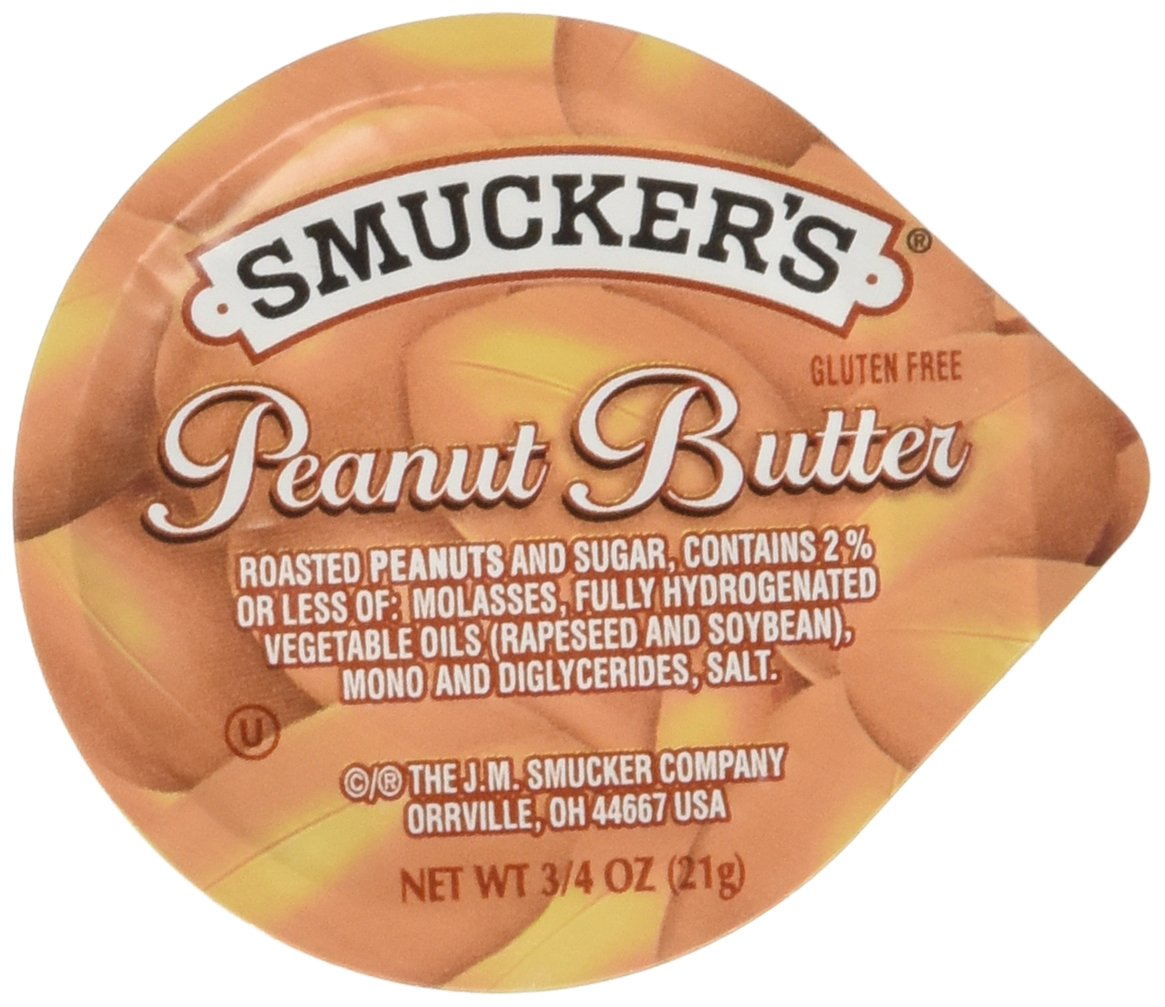 Smucker's Peanut Butter, 0.75 Ounce (Pack of 200)