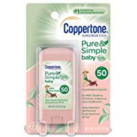 Deals on Coppertone Pure & Simple Baby SPF 50 Sunscreen Stick
