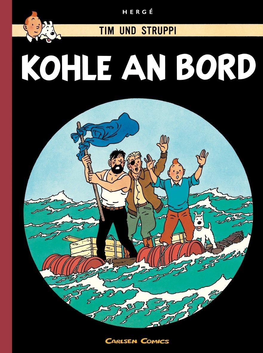 Tim And Struppi Farbfaksimile Band 18  Kohle An Bord