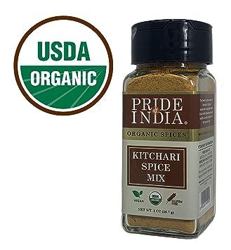 Amazon com : Pride Of India - Organic Kitchari Spice