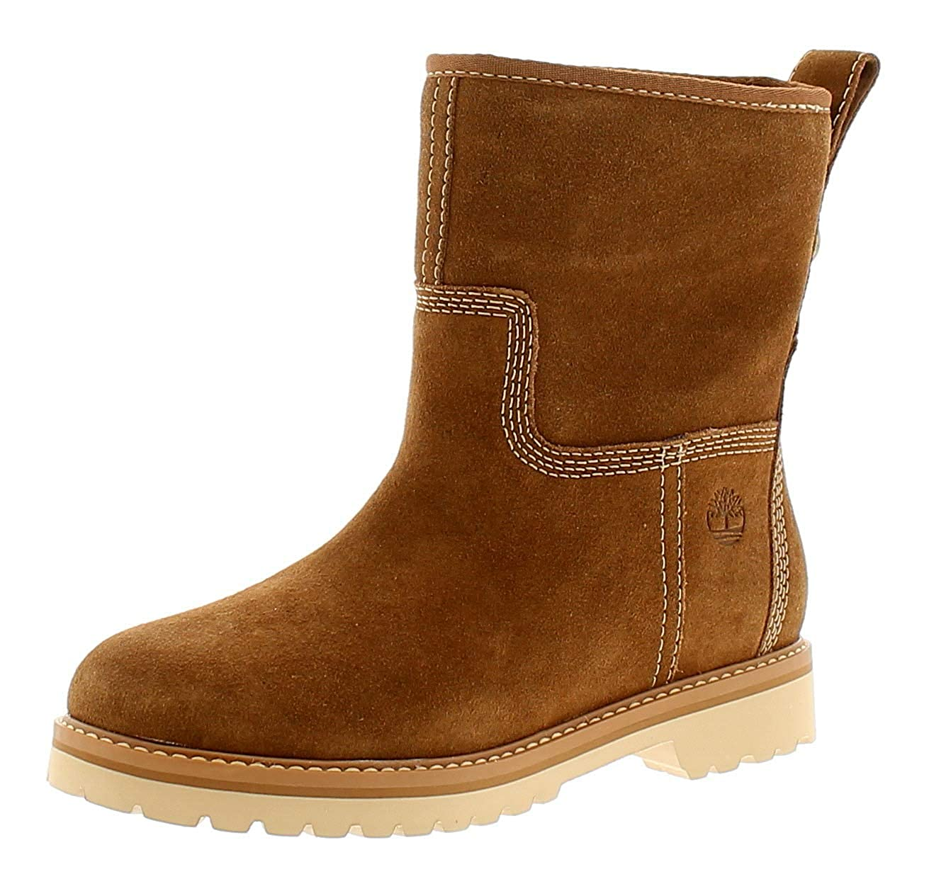 e5bb1e696963 Timberland Chamonix Valley Womens Ladies Leather Ankle Boots Tan - Tan - UK  Size 5.5  Amazon.co.uk  Shoes   Bags