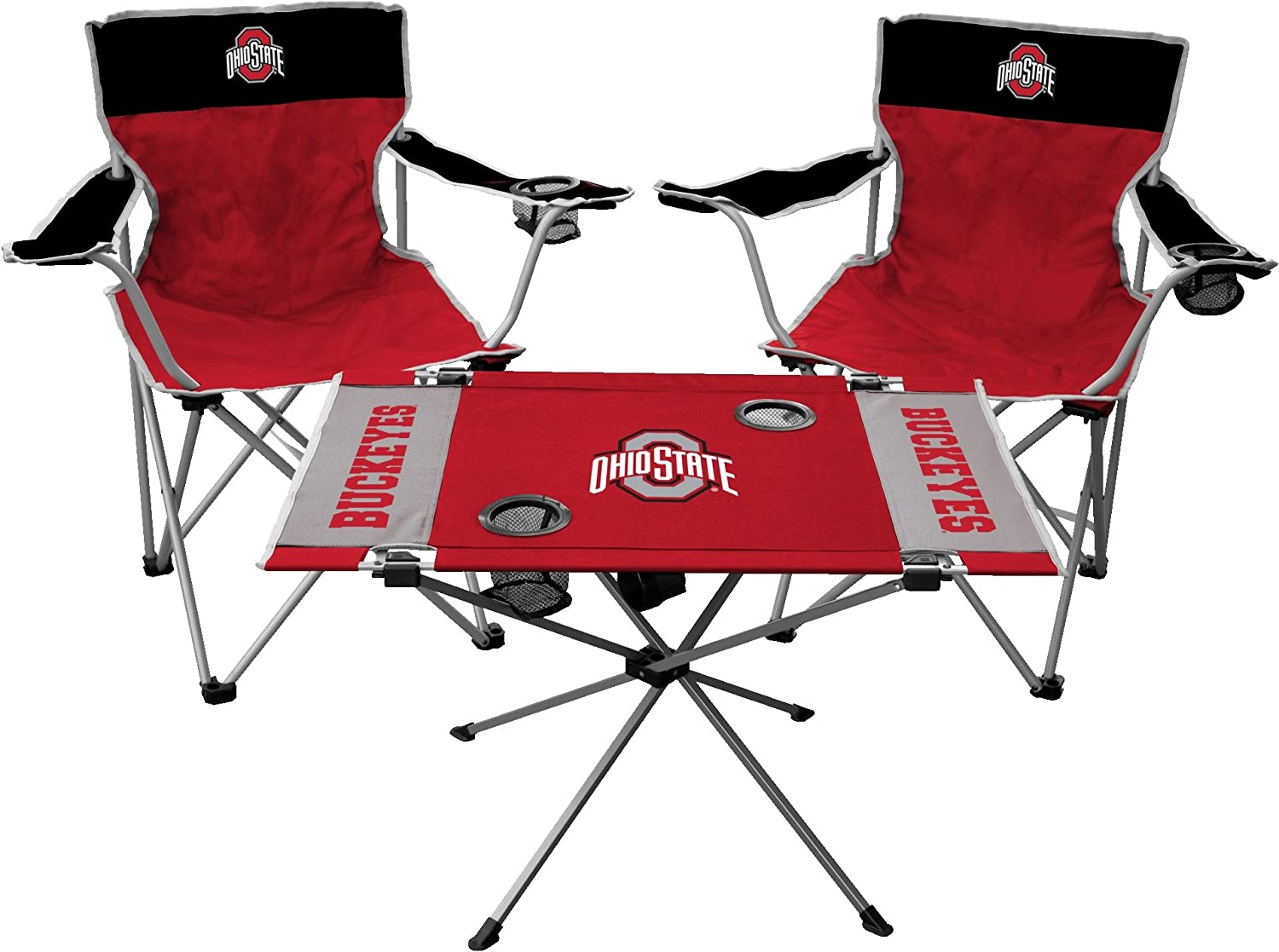 Team Color Jarden Sports Licensing NCAA Ohio State Buckeyes Tailgate Kit One Size