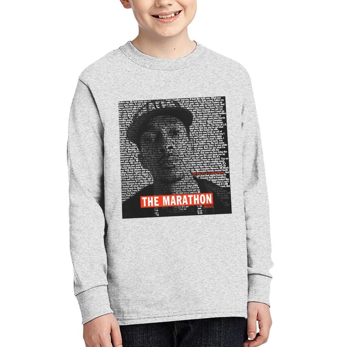 Play /& Games Teen Boys Girls Nipsey Hussle 11 Junior Long Sleeve T-Shirt Black